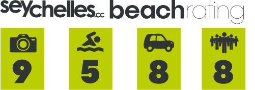 Our Beach Rating for Anse Nord D´est 2 on Mahe