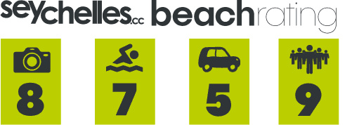 Our Beach Rating for Anse Pierrot on La Digue