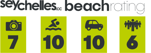 Our Beach Rating for Beau Vallon on Mahe