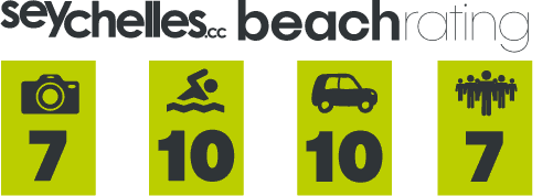 Our Beach Rating for Port Launay on Mahe