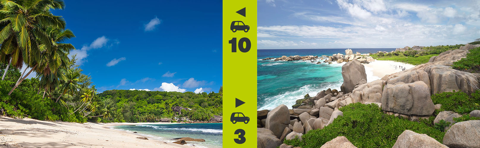 seychelles beach rating - the accessibility of a beach