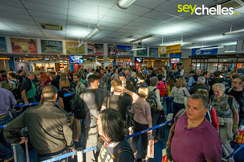 seychelles international airport - immigration