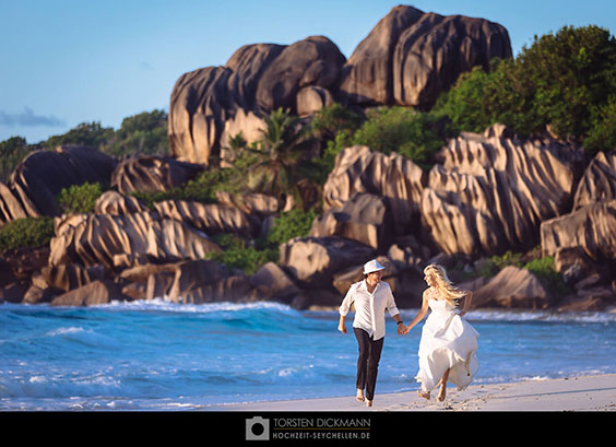 La Digue wedding