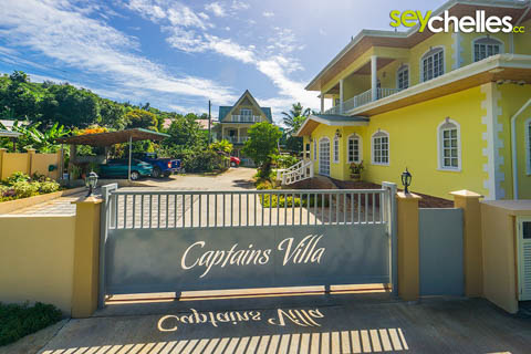 Captains Villa in Anse Forbans