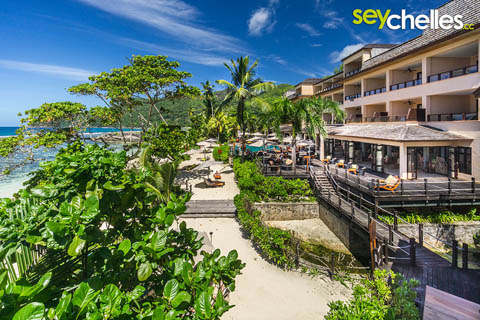 Allamanda Seychelles view seaside