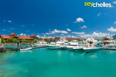 eden island marina - the biggest yachts of the seychelles