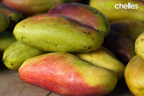 mangos auf dem markt in victoria