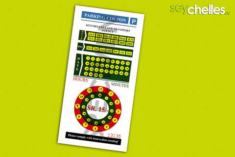 seychelles parking coupon