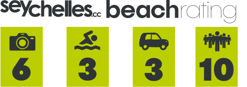 Our Beach Rating for Anse Aux Cedres on La Digue