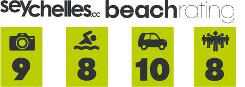 Our Beach Rating for Baie Lazare on Mahe
