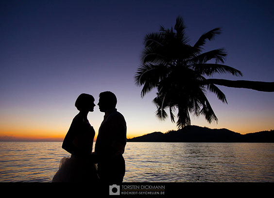 couple after sunset