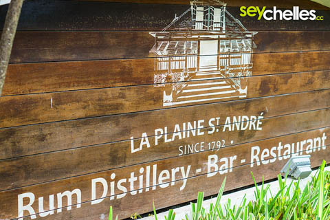 entry to la plaine st andre - takamaka rum destillery