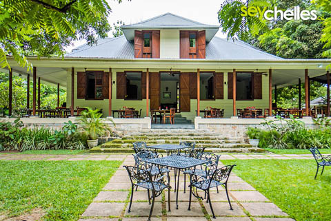 plantation house la plaine st andre